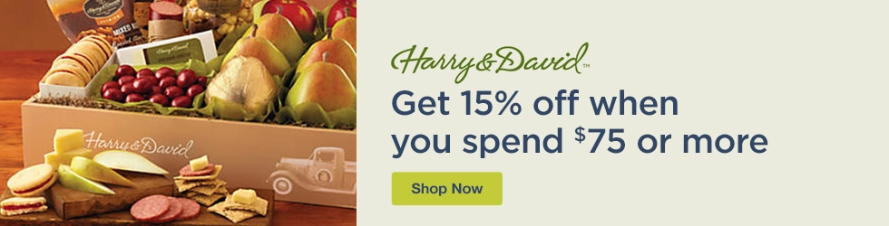 Harry and David - Save 15% Off $75+