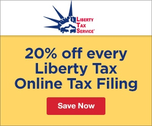 liberty tax service extra 20 off every liberty tax online tax filing solution