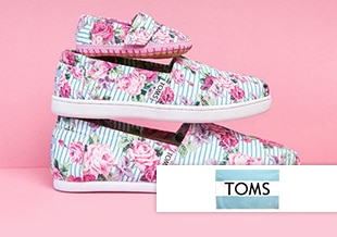 Buy One, Give One at TOMS