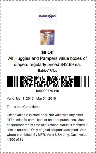 huggies baby diapers 8 off printable babies r us coupon