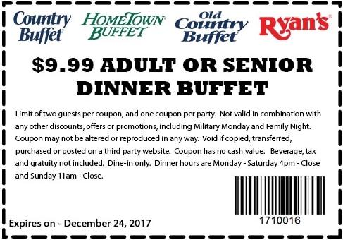 Hometown buffet deals coupons