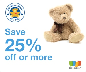 Party coupon build a bear