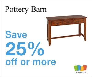 Pottery Barn coupons & promo codes