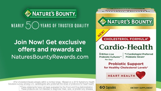 photograph about Nature Made Printable Coupons identified as Natures Bounty®