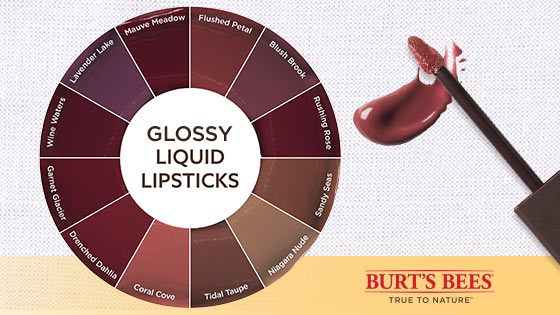 picture relating to Burt's Bees Coupons Printable named Preserve $2.00 upon Burts Bees® Shiny Liquid Lipsticks