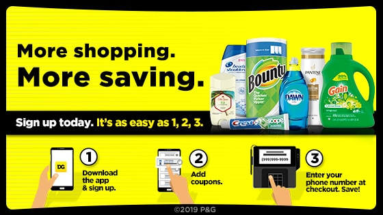 Procter Gamble Coupons Dollar General Digital Coupons Nov 2020
