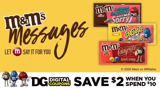 Mars Candy Coupons Dollar General Digital Coupons Nov 2020