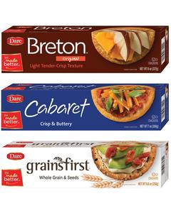 Breton® or Dare® Crackers