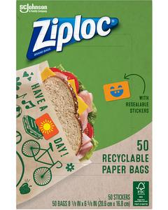 Ziploc® Paper Bag