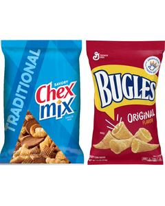Chex Mix™, Bugles™, Gardetto's™, Food Should Taste Good™