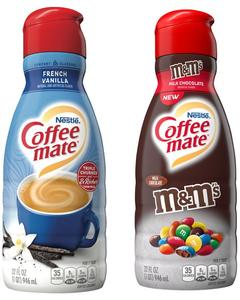 COFFEE MATE® or natural bliss® Creamer