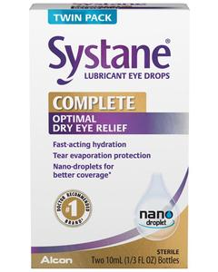 SYSTANE® Lubricant Eye Drops Twin Pack
