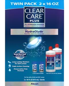CLEAR CARE® Solution TWIN PACK