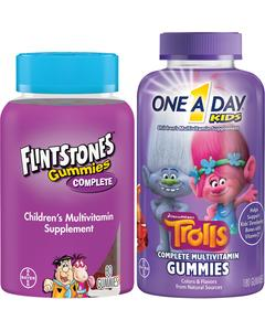 FLINTSTONES™ OR ONE A DAY® KIDS image