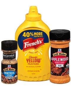 McCormick® Grill Mates® & French's®