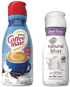 COFFEE MATE® or natural bliss®