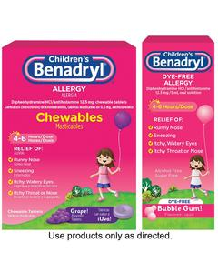 Children's BENADRYL®
