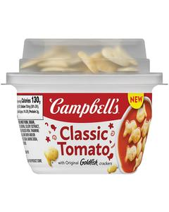 Campbell's® Soup with a Crunch
