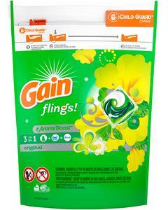 Gain Flings Laundry Detergent