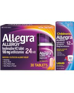Allegra® Allergy Product