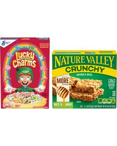 Lucky Charms™ and Nature Valley™