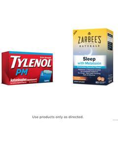 TYLENOL® PM, ZARBEE'S®, OR SIMPLY SLEEP®
