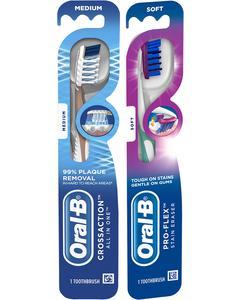 Oral B Manual Adult Toothbrush