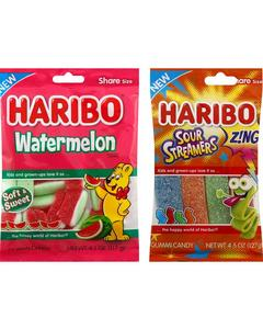 Haribo Watermelon and Sour Streamers