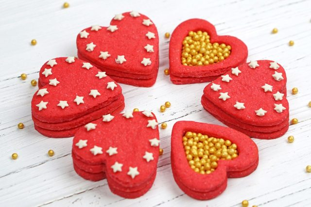 How to Make Heart Surprise Cookies (Video)