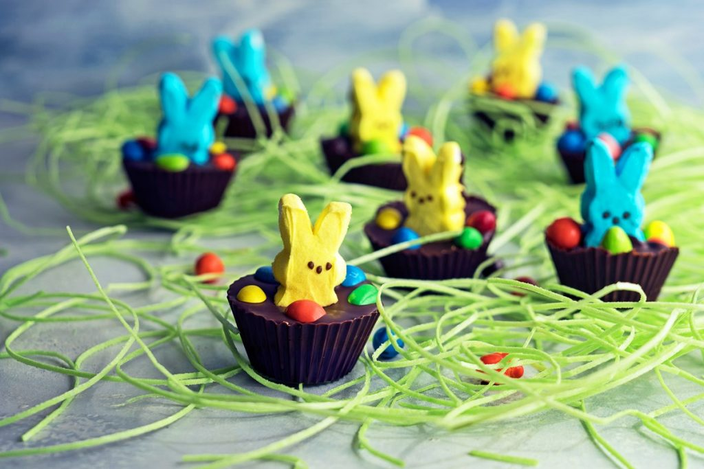 How to Make Peeps Cookie Butter Cups (Video)