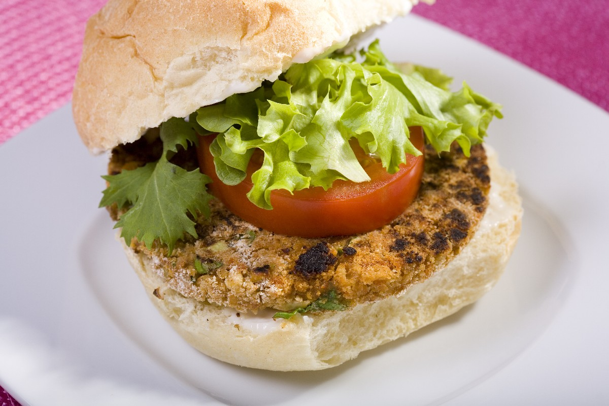 All-Star Veggie Burger - KitchMe