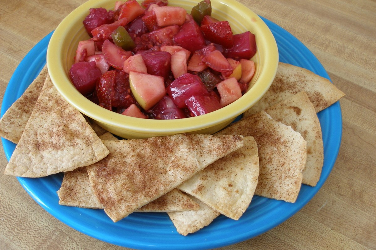 Annie's Fruit Salsa and Cinnamon Chips - KitchMe
