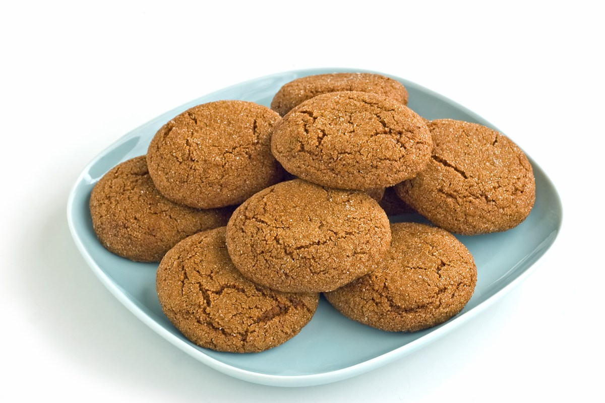 Big Soft Ginger Cookies - KitchMe