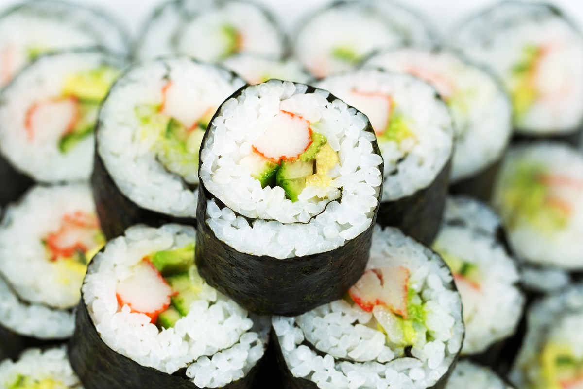 California Roll Sushi - KitchMe