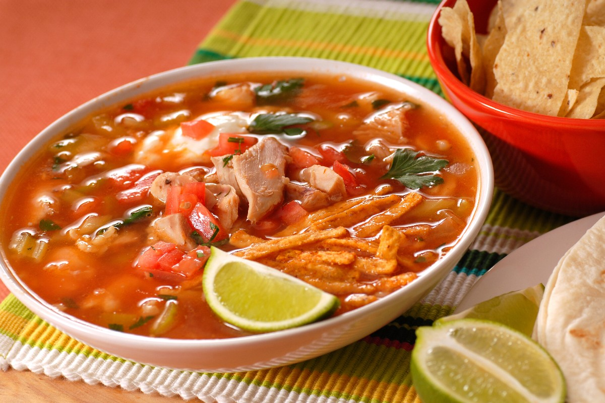 Chicken Tortilla Soup - KitchMe