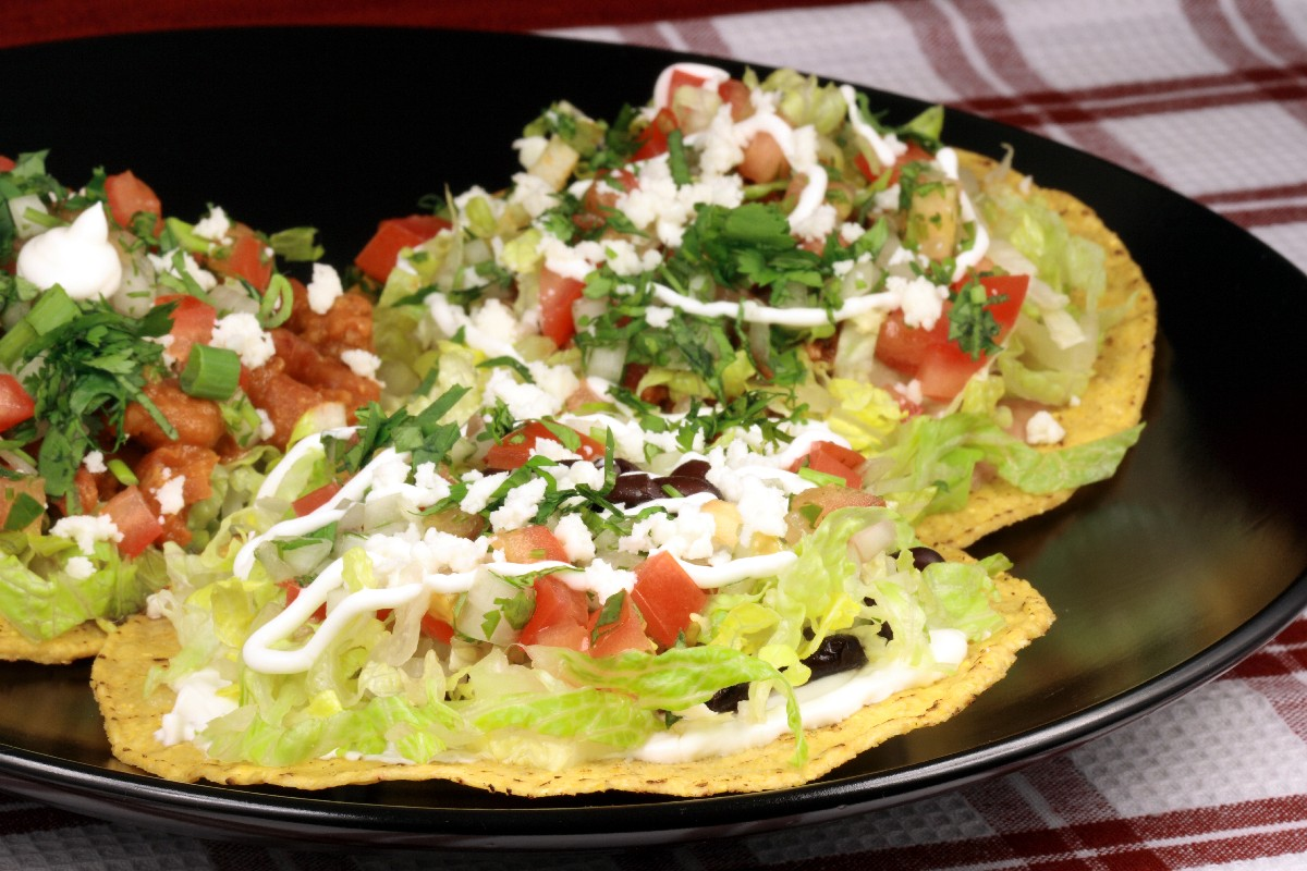 Chipotle Beef Tostadas - KitchMe