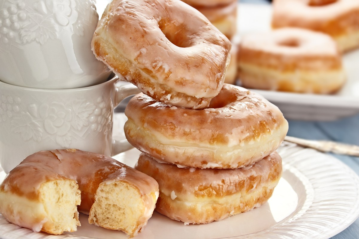 Crispy and Creamy Doughnuts - KitchMe