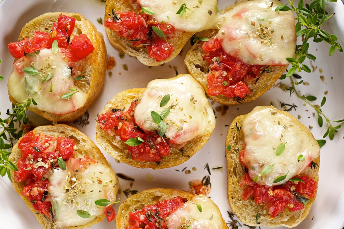 Double Tomato Bruschetta - KitchMe