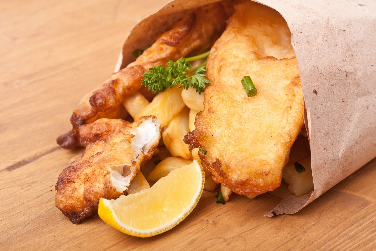 Fish and chips kitchme for Fish and chips recipes