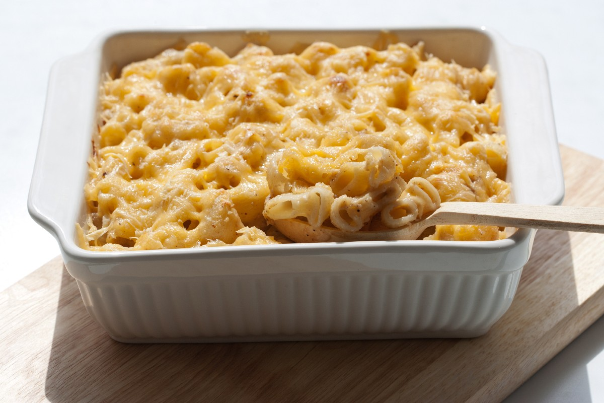 16. Four Cheese Macaroni