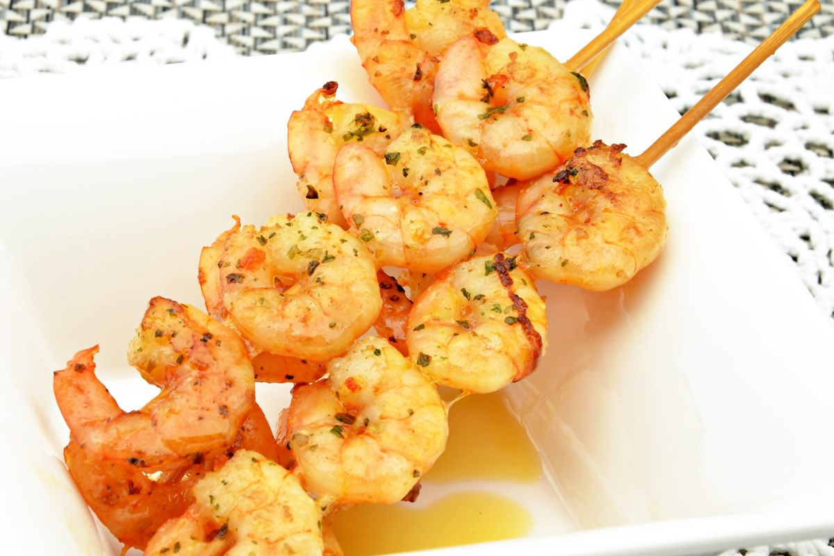 14. Grilled Shrimp Scampi