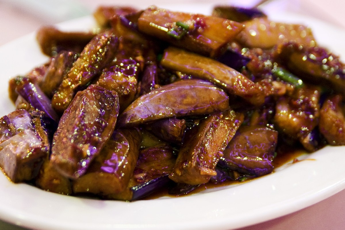 Hot And Sour Eggplant Recipe