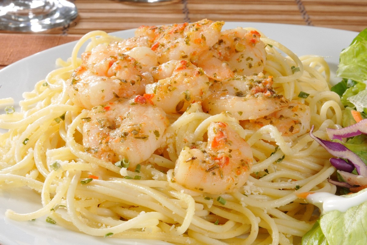 Lemony Shrimp Scampi Recipe — Dishmaps