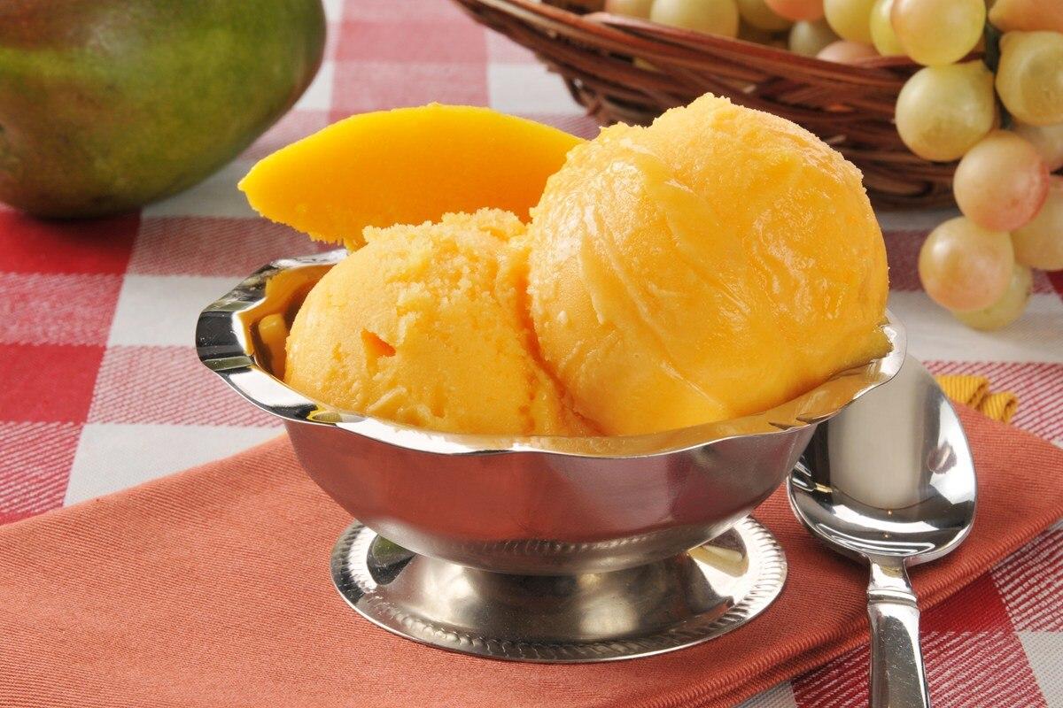 Mango Sorbet - KitchMe