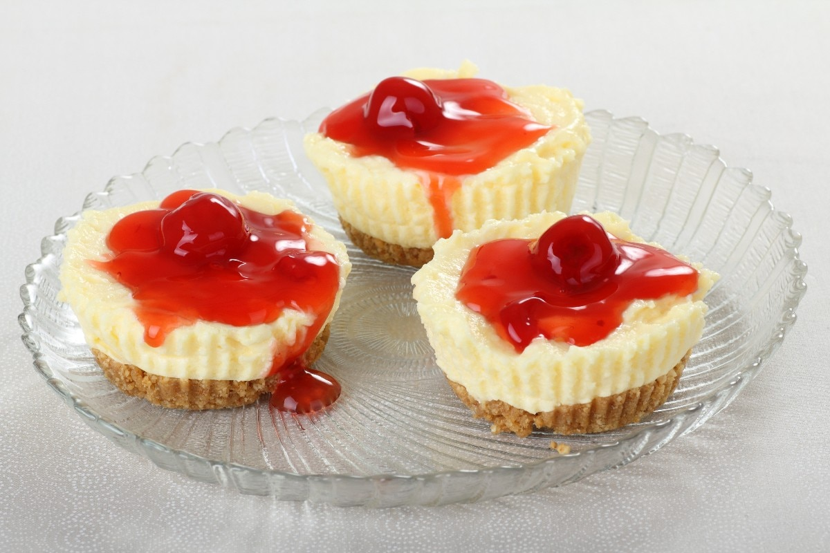 Mini Cheesecakes I Recipe — Dishmaps