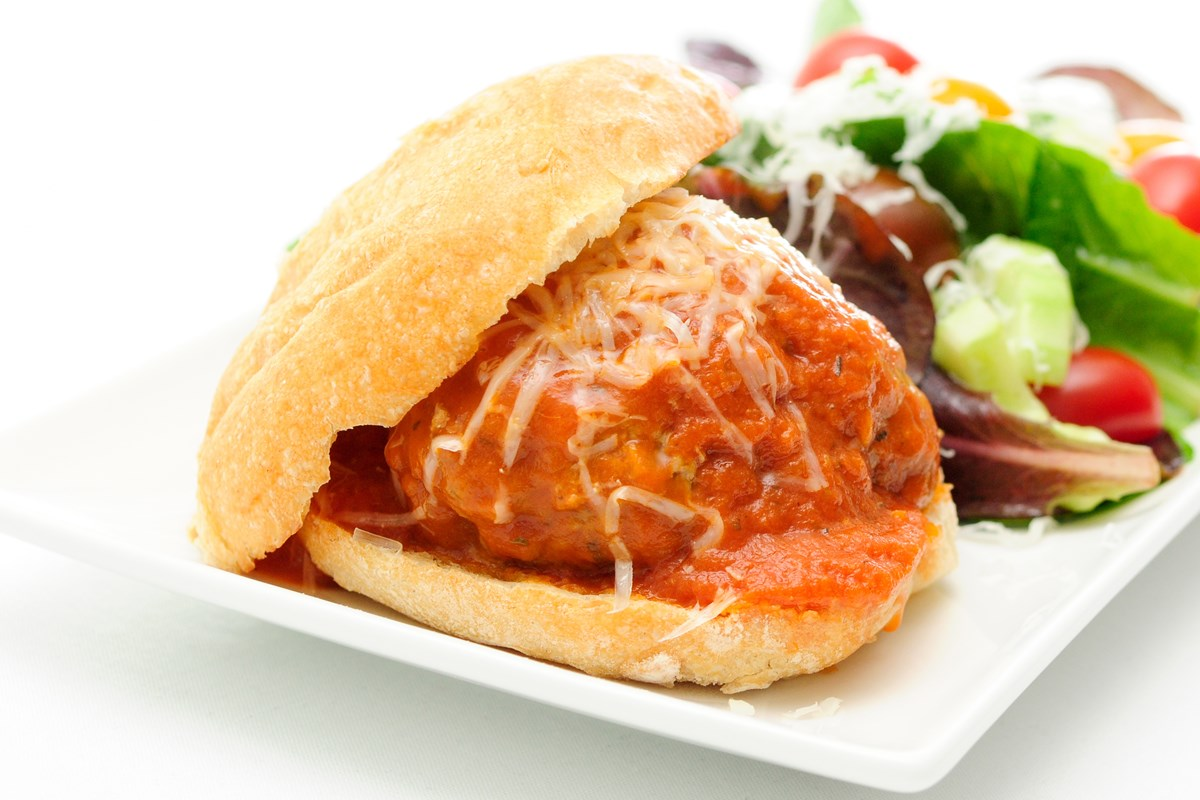 Mini Meatball Sandwiches Recipe — Dishmaps