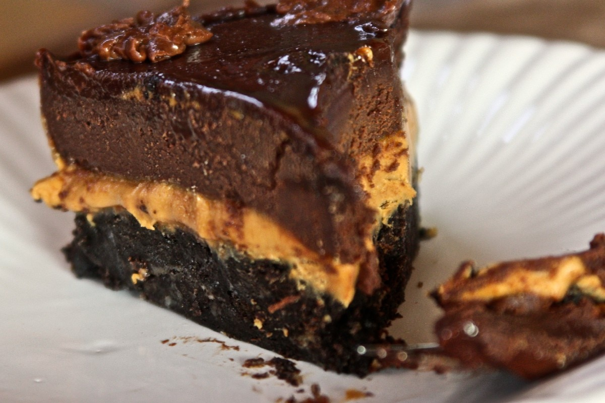 Peanut Butter Fudge Cake - KitchMe