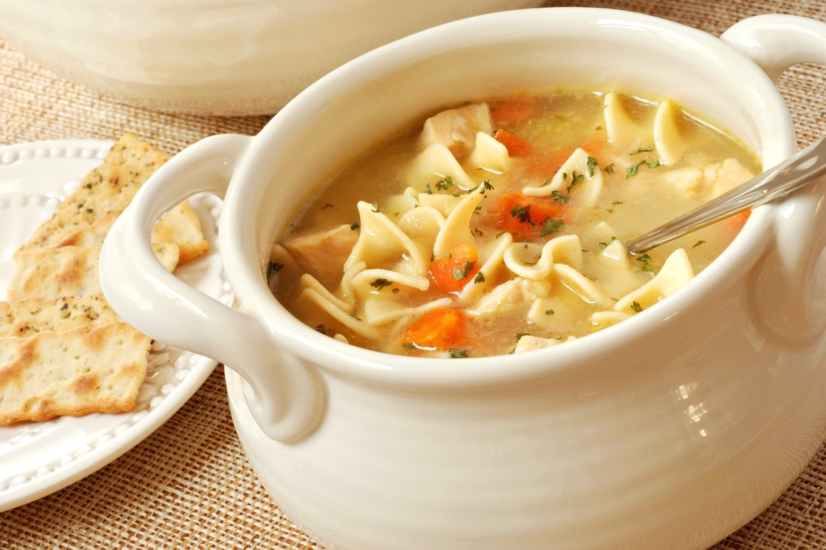 Quick and Easy Chicken Noodle Soup - KitchMe