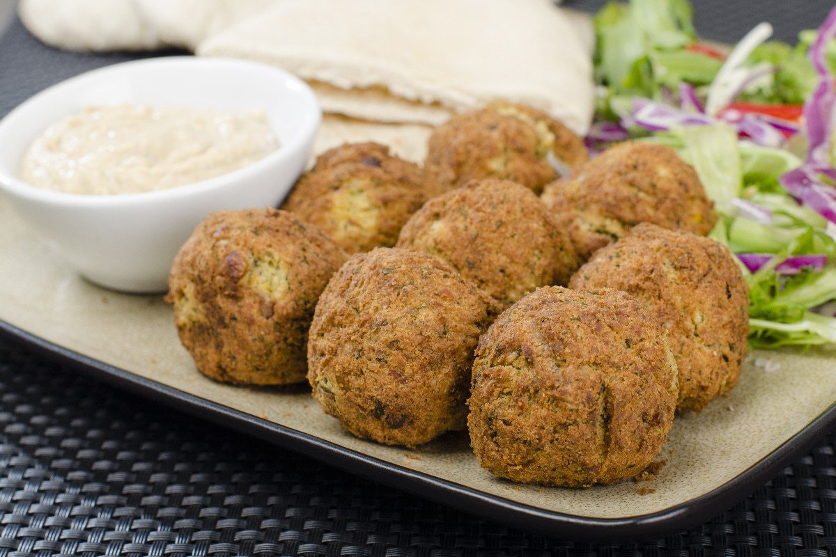 Sean's Falafel and Cucumber Sauce - KitchMe