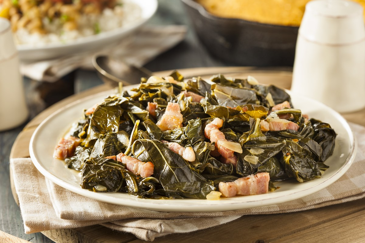 Southern Collard Greens with Bacon